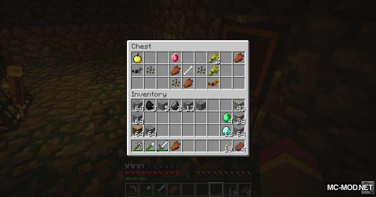 Pendant of Life mod for Minecraft (9)