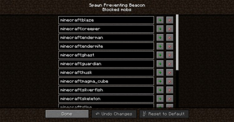 Spawn Preventing Beacon mod for Minecraft (11)