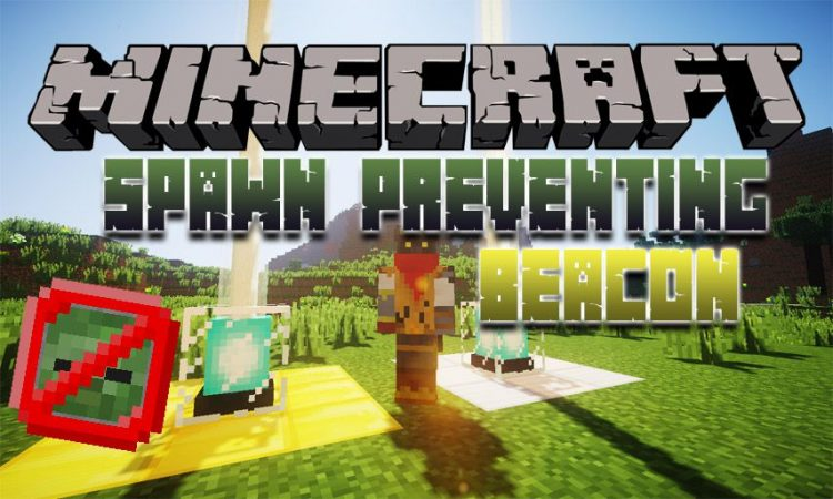 Spawn Preventing Beacon mod for Minecraft logo