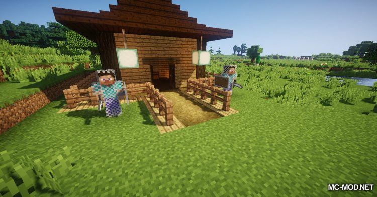 Statues Rechiseled mod for Minecraft (11)