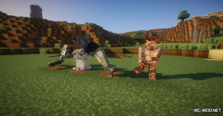 Statues Rechiseled mod for Minecraft (13)
