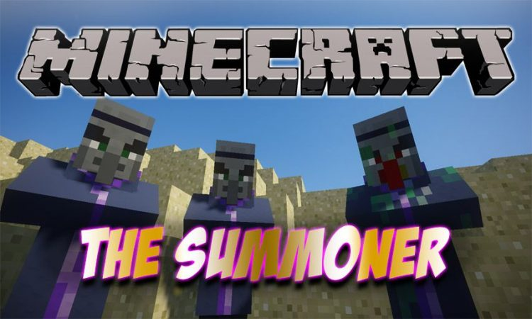 The Summoner mod for Minecraft logo