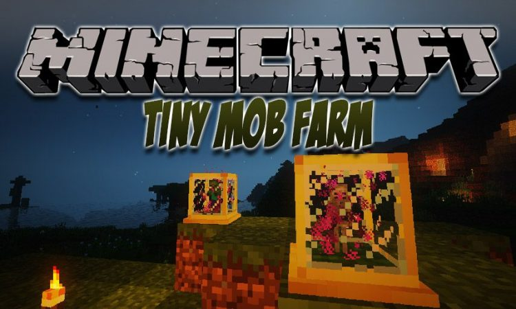 Tiny Mob Farm mod for Minecraft logo