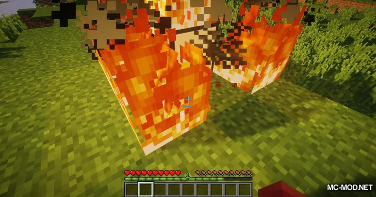Wooden Furnace mod for Minecraft (6)