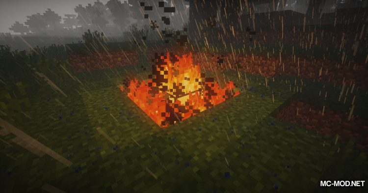 Wooden Furnace mod for Minecraft (9)