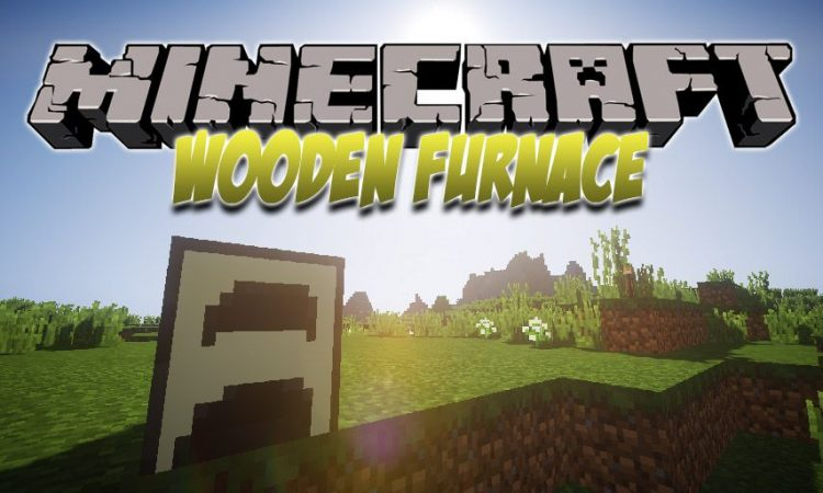 Wooden Furnace mod for Minecraft logo