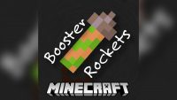 Booster Rockets Mod for Minecraft Logo