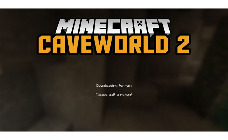 Caveworld 2 Mod for Minecraft logo