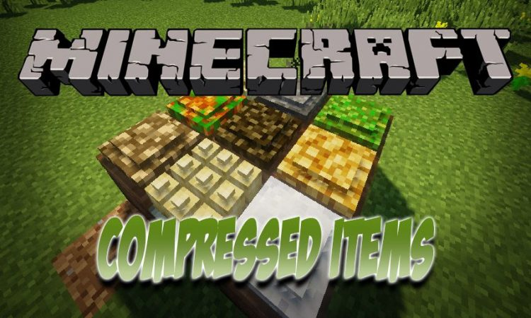 Compressed Items mod for Minecraft logo