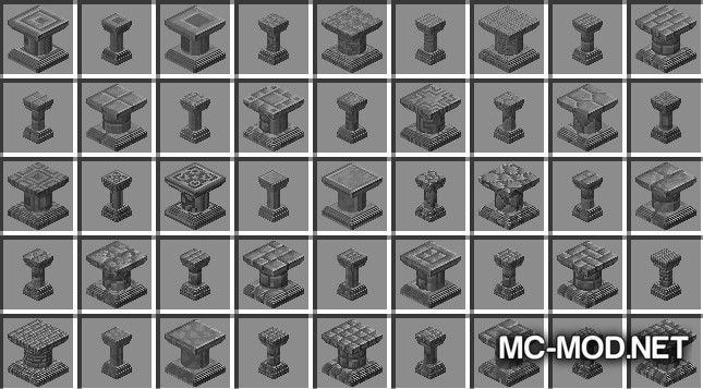 Corail Pillar - Extension Chisel Mod for Minecraft 10