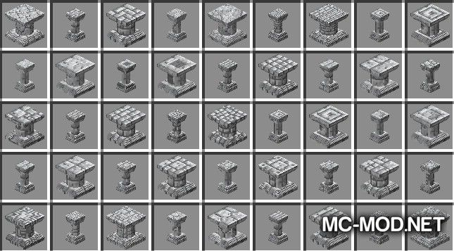 Corail Pillar - Extension Chisel Mod for Minecraft 11
