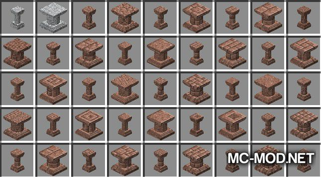 Corail Pillar - Extension Chisel Mod for Minecraft 3