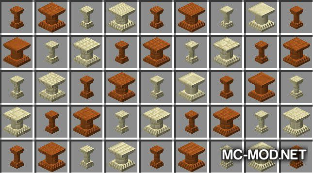 Corail Pillar - Extension Chisel Mod for Minecraft 4