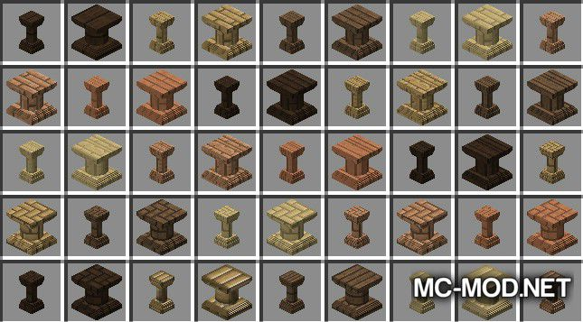 Corail Pillar - Extension Chisel Mod for Minecraft 6
