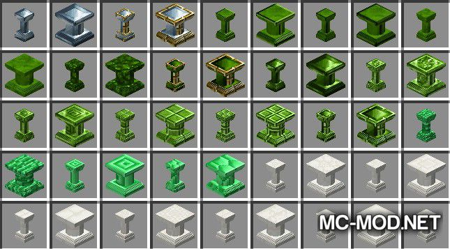 Corail Pillar - Extension Chisel Mod for Minecraft 9