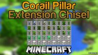 Corail Pillar - Extension Chisel Mod for Minecraft Logo