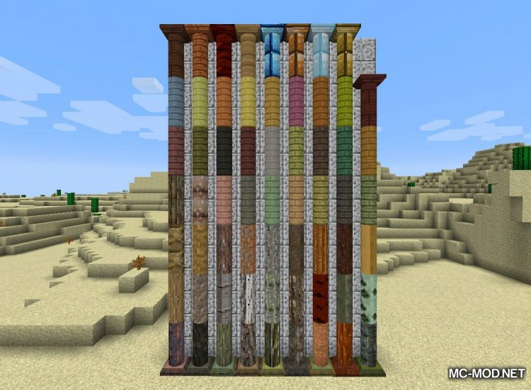 Corail Pillar - Extension Forestry Mod for Minecraft 3