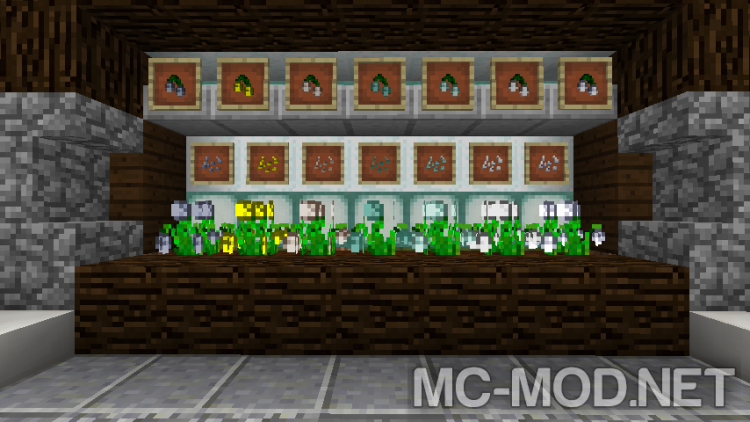 Croparia mod for minecraft 02