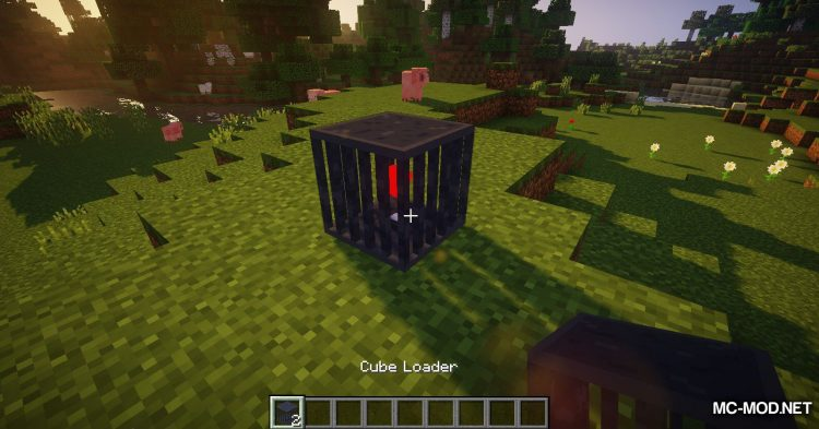 Cube Loader mod for Minecraft (2)