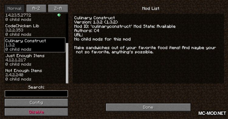 Culinary Construct mod for Minecraft (1)