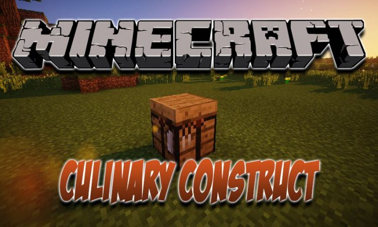 Culinary Construct mod for Minecraft logo