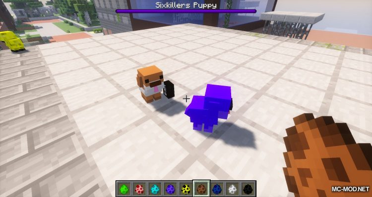 Cute Puppy Mod for minecraft 05