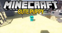 Cute Puppy Mod for minecraft logo