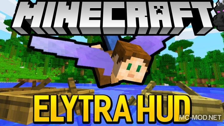 Elytrahud mod for minecraft logo