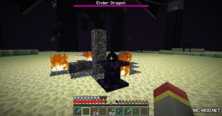 Ender Totem mod for Minecraft (11)
