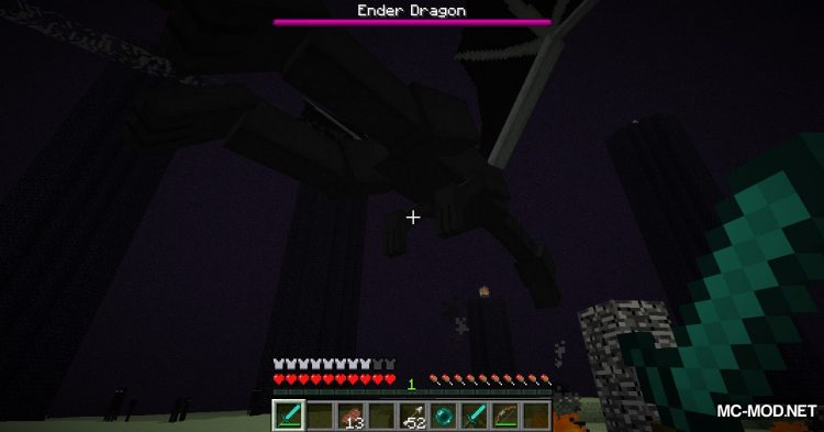 Ender Totem mod for Minecraft (12)