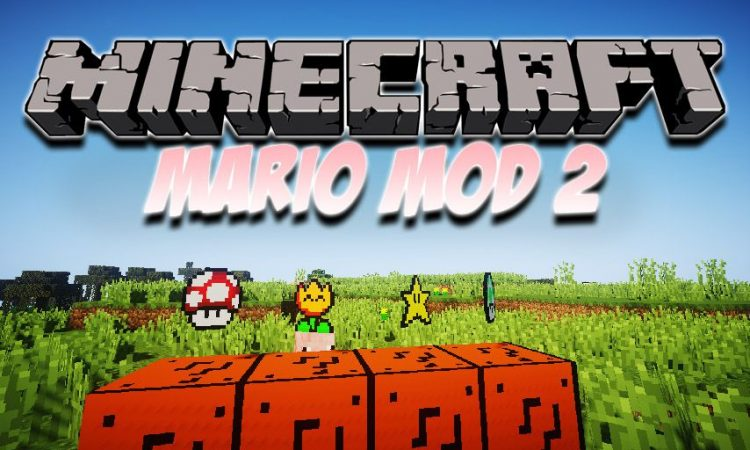 Mario Mod 2 mod for Minecraft logo