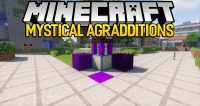 Mystical Agradditions mod for minecraft logo