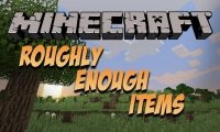 Roughly Enough Items mod for Minecraft logo