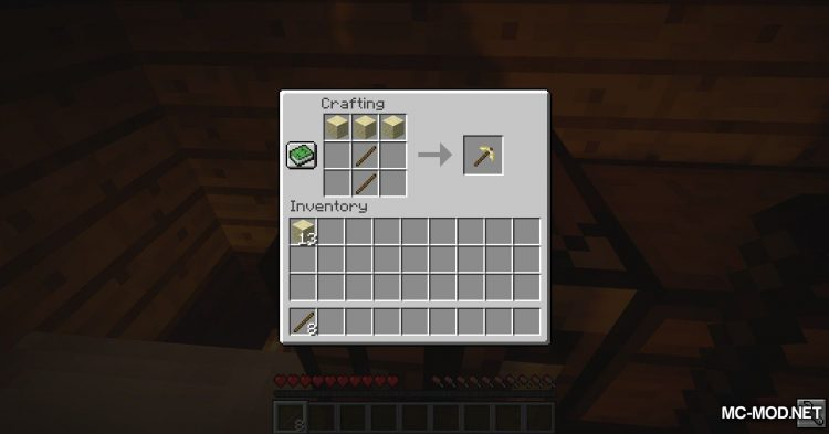 Sandstone Armory mod for Minecraft (5)