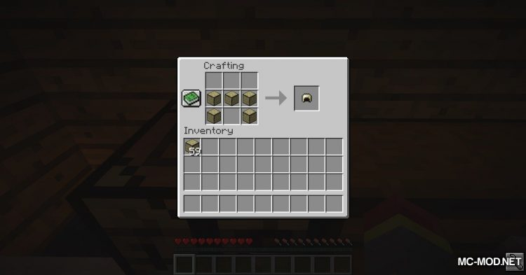 Sandstone Armory mod for Minecraft (9)