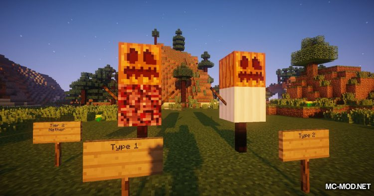 Scarecrows mod for Minecraft (10)