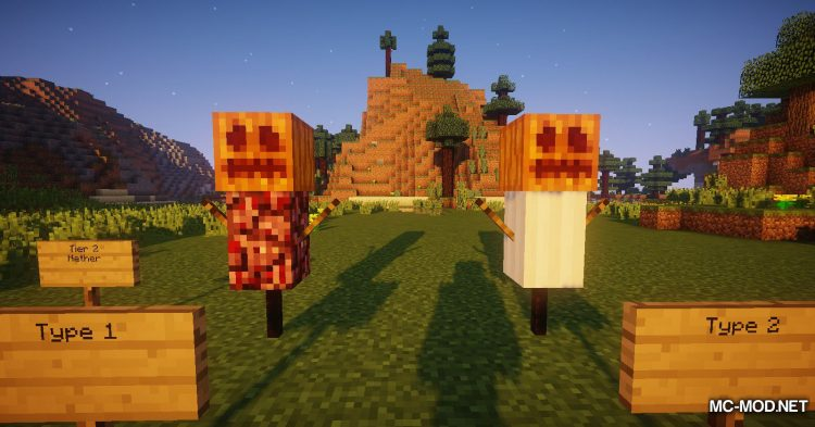 Scarecrows mod for Minecraft (11)