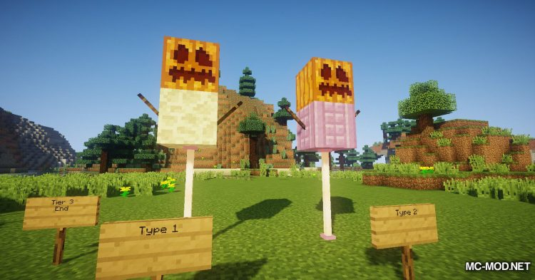 Scarecrows mod for Minecraft (12)