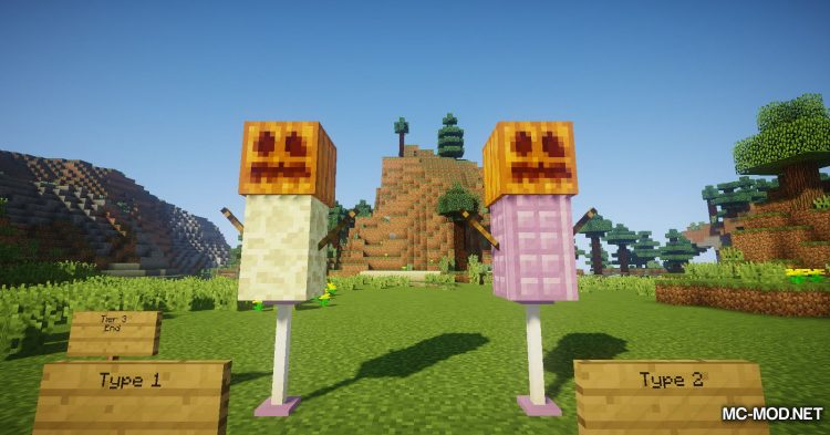 Scarecrows mod for Minecraft (13)