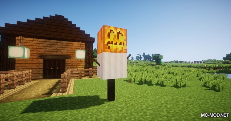 Scarecrows mod for Minecraft (14)