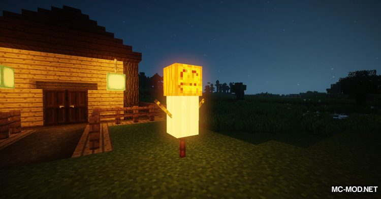 Scarecrows mod for Minecraft (15)