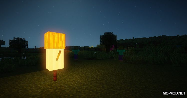 Scarecrows mod for Minecraft (16)