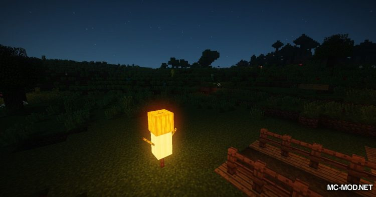 Scarecrows mod for Minecraft (18)