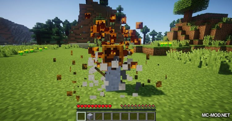 Scarecrows mod for Minecraft (4)