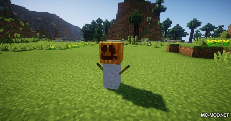 Scarecrows mod for Minecraft (5)