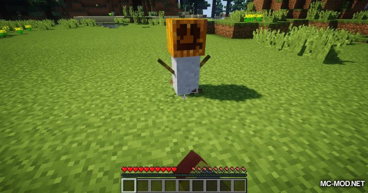 Scarecrows mod for Minecraft (6)