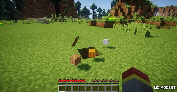 Scarecrows mod for Minecraft (7)