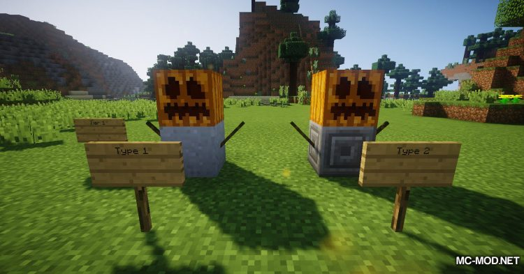 Scarecrows mod for Minecraft (8)