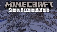 Snow Accumulation Mod for minecraft logo