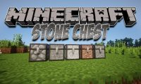 Stone Chest mod for Minecraft logo